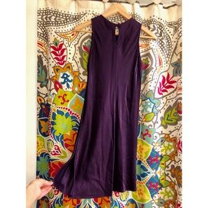 ALL THAT JAZZ purple shiny theater holiday dress